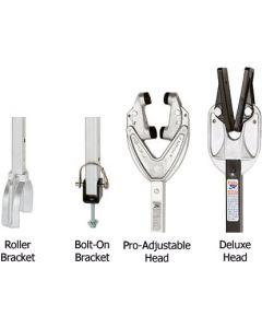 """Attwood Pro Adjustable Head, 24"""" - 36"""", Roller/Bolt"""