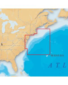 Navionics Platinum Plus New Jersey and Delaware on SD/Micro SD