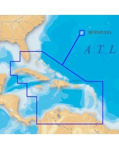Navionics Platinum Caribbean on SD/Micro SD