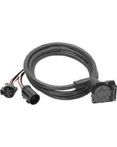Fulton Products 90  5Th Whl.Adp.7-Way Flat - Fifth Wheel & Gooseneck Trailer 90&Deg; Wiring