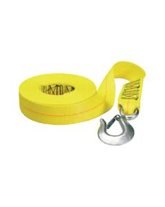 Marpac WINCH STRAP 10,000# 25', YELLOW