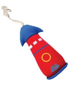 Paws Aboard Interactive Pet Play Toy, Floating Lighthouse With Throwing Rope