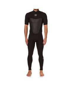 Billabong Men's 2mm Absolute Chest Zip Short Sleeve Wetsuit