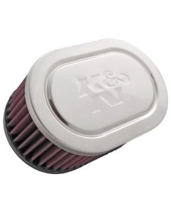 "K&N Performance Kawasaki K&N 3"" Single Carb Filter Air Filter"