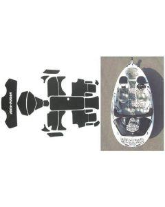 Hydro-Turf SeaDoo Speedster 2000-2003, Speedster 160 2004 Jet Boat Molded Diamond Mat Kit
