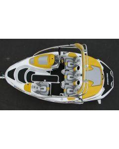 Hydro-Turf SeaDoo Sportster 4-TEC 2003-2005, Sportster SCIC 2005-2006, 150 Speedster 2007-2008 Jet Boat Molded Diamond Mat Kit