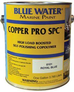 Blue Water Marine Paint Copper Pro SPC, Self Polishing Copolymer, Marine Black Gal