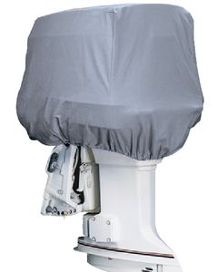 Attwood Road Ready Cotton Heavy-Duty Canvas Cover f/Outboard Motor Hood 115-225HP