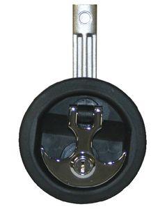 T-H Marine Supply Anchor Handle Lift Flush Latch, Locking, Chrome Handle