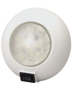 T-H Marine Supply Led Surface Mount Dome Light, White/Red
