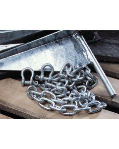 "Tie Down Engineering 1/4"" X 5' Galvanized Anchor Chain"