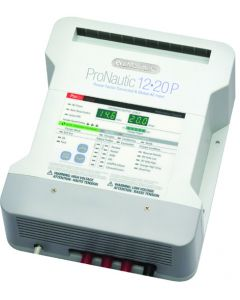ProMariner ProNautic 1220P Battery Charger, 20A/3 Banks 63120
