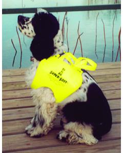 """Doggy Life Jacket/Vest XL, 23-27"""" Chest, Foam, Yellow -Texas Recreation"""