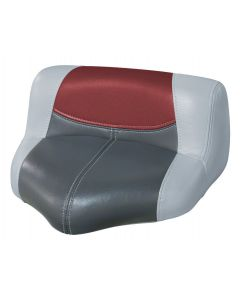 Wise Blast-Off Tour Series Pro Casting Seat Pro-Lean Design, Gray-Charcoal-Red
