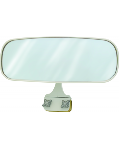 """Seasense Panoramic 10 x 4"""" Rear View Boat Mirror; Rail Mount (up to 1"""")"""