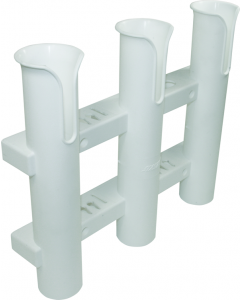 Seasense Rod Holder, 3 Rod, White