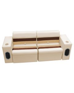 Wise Deluxe Pontoon Rear & Side Group A, Sand-Chestnut-Gold