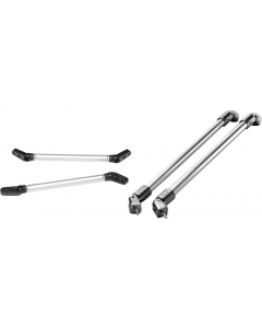 "Taylor Made Windshield Support Bar, 16"", ea., Powder Coat Aluminum"