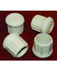 """Taylor Made Rubber Chair Tips, Fits 1-1/8"""" Tubing"""