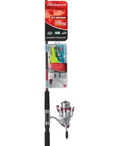 Shakespeare Catch More Fish - Striper Spinning Combo Kit, 7'0'' - 2pc - M