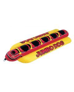 Airhead Jumbo Dog/Towable; 5-Person Capacity