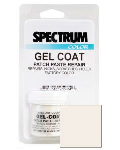 Spectrum Color Sea Ray, 2000-2008, Arctic White ASH Color Boat Gel Coat Patch Paste Repair Kit