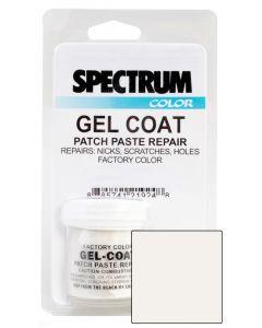 Spectrum Color Yamaha, 2004-2011, White Coat 5 CCP LVOC Color Boat Gel Coat Patch Paste Repair Kit