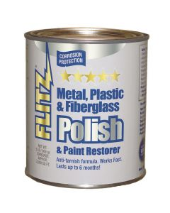Flitz Polish - Paste - 2.0 lb. Quart Can