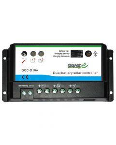 GANZ eco-energy GANZ Eco-Energy GCC-D10A Dual Charge Controller - 12/24V