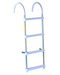 """Garelick Boat Ladder, 5-Step, 60"""", 11"""" Hook"""