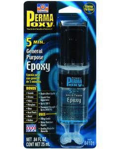 Permatex PermaPoxy, 0.84 oz Dual Syringe