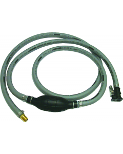 "Sierra 8Ft Mercury, Silverado 4000 3/8"" Id Epa Fuel Line Assembly With Hose Barb End - 18-8024EP-1"