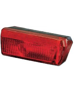Wesbar Waterproof Wrap-Around Tail Light Lens, LH Replacement