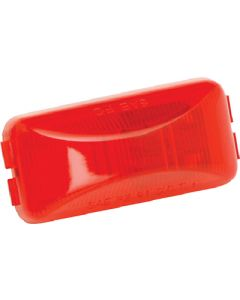 Wesbar Waterproof Snap-Lock Red Side Marker & Clearance Light Replacement Module