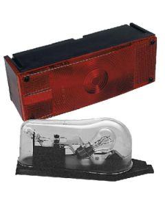 Wesbar Waterproof Low Profile Tail Light Lens Set