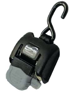 """Indiana Marine Retractable Transom Tie Down Straps, Standard, 14-43"""", Pair"""