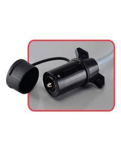 Progress Mfg 7 Way Plug Cover - Retail - 7-Pin Plug Cover - Tethered
