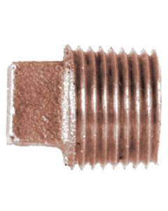 Midland Marine Square Head Pipe Plug Regular 1-1/2 Ips, Bronze