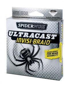 Spiderwire Ultracast Invisi-Braid 1500 Yd. Spool - Lb.Test/Diam: 15/4, Color: Translucent