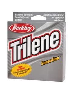 Berkley Trilene Sensation Service Spool - 6 Lb.Test, Color: Blaze Orange