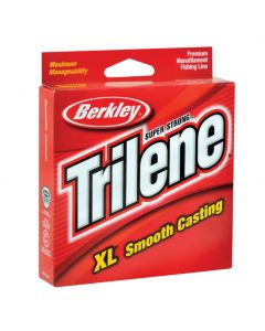 Berkley Trilene XL 3000 Yd. Service Spool - 4 Lb.Test, Color: Low-Vis Green