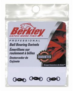 Berkley Ball Bearing Swivels - Size: 3, Lb. Test: 40, Qty: 3