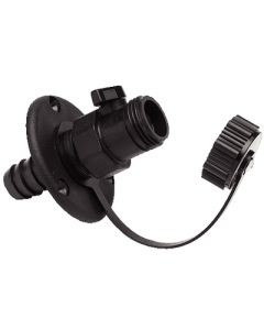 T-H Marine Supply Wash Down Ftg W/Shut Off Valve
