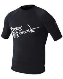 Body Glove Mens Basic Short Sleeve Shirt, Black, Small
