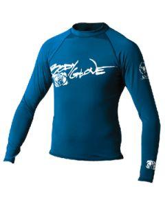 Body Glove Juniors Basic Long Sleeve Shirt, Royal Blue, Size 12