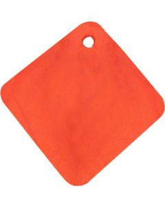 Brownell Boat Stands Plywood Pad Only - Orange
