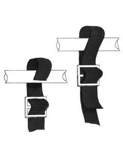 Epco Bimini Top Strap Grey 2/Pk