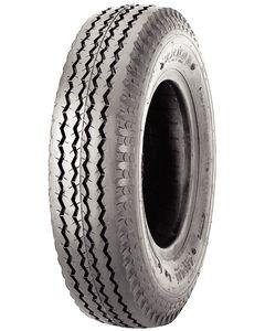 Loadstar Kenda K371 Bias Tire & Wheel Assembly, 480/400-8 LRB, White, 5 hole