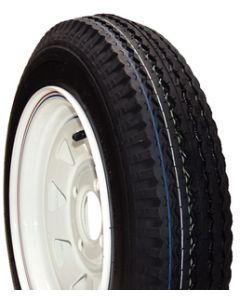 Loadstar Kenda K353 Bias Tire & Wheel Assembly, 570-8 LRB, Galvanized, 4 hole