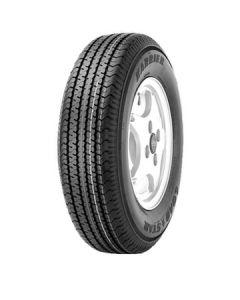 Loadstar Kenda KR03 ST225/75R-15, 6H Directional Silver Wheel, LRC